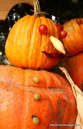 Pumpkin man strikes again!